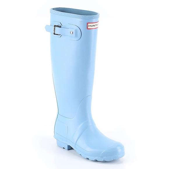 light blue rain boots Shop Clothing